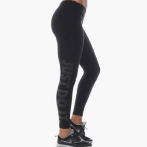 Vn0wmon8 Black Do Nike It Poshmark Pantsjust Leggings EDW92IYH